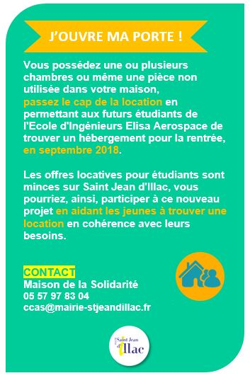 Location etudiants